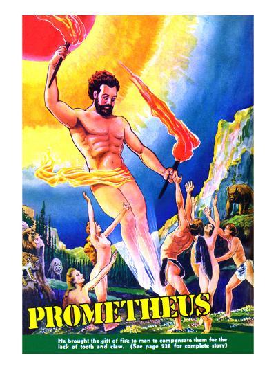 Prometheus-Frank R^ Paul-Art Print