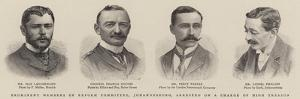 Prominent Members of Reform Committee, Johannesburg, Arrested on a Charge of High Treason