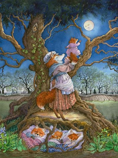 Promising the Moon-Wendy Edelson-Giclee Print