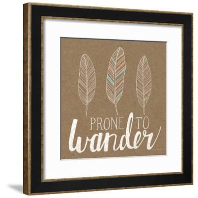 Prone to Wander-Laura Marshall-Framed Art Print