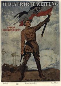 Propaganda, German Protection Force During World War I