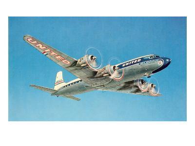 Propeller Plane--Art Print