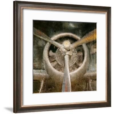 Propeller-Kimberly Allen-Framed Art Print