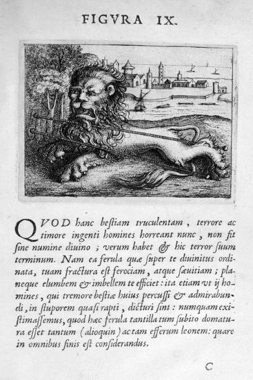 Prophecy Figure IX from Prognosticatio Eximii Doctoris Paracelsi, 1536-Theophrastus Bombastus von Hohenheim Paracelsus-Giclee Print