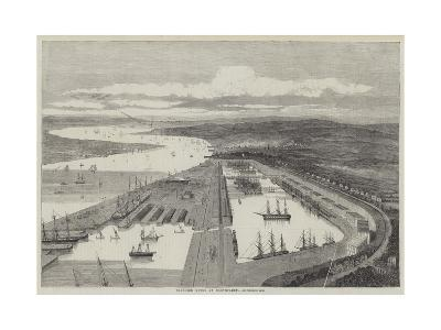 Proposed Docks at Northfleet--Giclee Print
