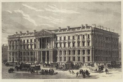 Proposed New Buildings of the General Post-Office, St Martin'S-Le-Grand--Giclee Print