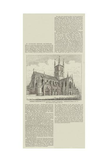 Proposed Restoration in St Saviour's Church--Giclee Print