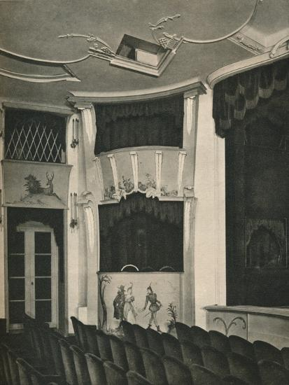 'Proscenium and Stage Boxes in the Komodie Theatre, Berlin', c1926-Unknown-Photographic Print