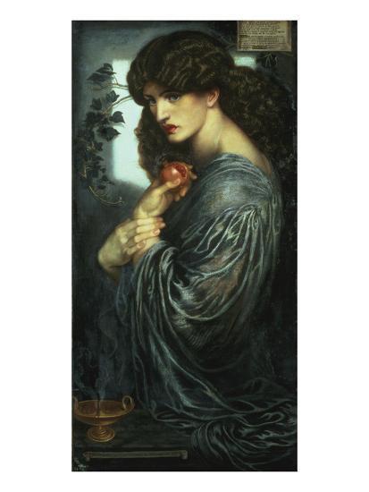 Proserpina, 1877-Dante Gabriel Rossetti-Giclee Print