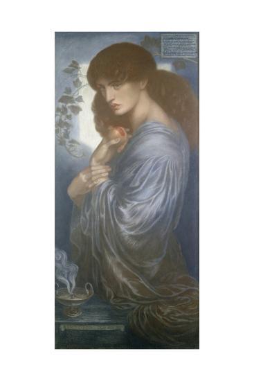 Proserpine, 1880-Dante Gabriel Charles Rossetti-Giclee Print