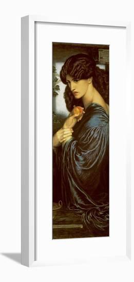 Proserpine-Dante Gabriel Rossetti-Framed Premium Giclee Print