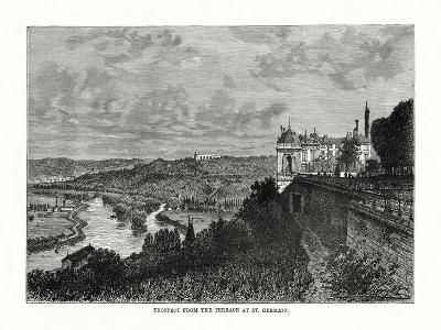 Prospect from the Terrace at St Germain, France, 1879--Giclee Print