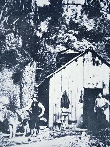 Prospectors at Clear Creek, Near Shasta, California, C.1849