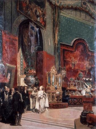 Abd Al-Kadir Visits the Exposition Universelle De Paris, 1855 by Prosper Lafaye