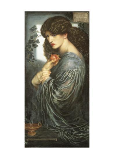 Prosperine-Dante Gabriel Rossetti-Art Print