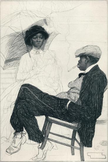 Prosperity - Stage Iii, C1920-Warwick Reynolds-Giclee Print