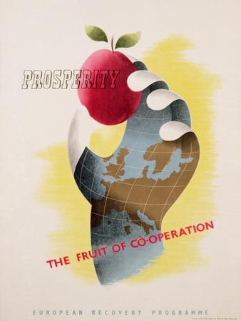 Prosperity - the Fruit of Co-Operation--Giclee Print