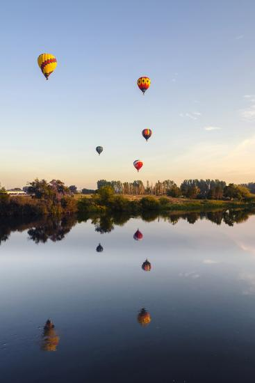 Prosser Balloon Rally Goes Aloft Each Summer, Prosser, Washington, USA-Richard Duval-Photographic Print
