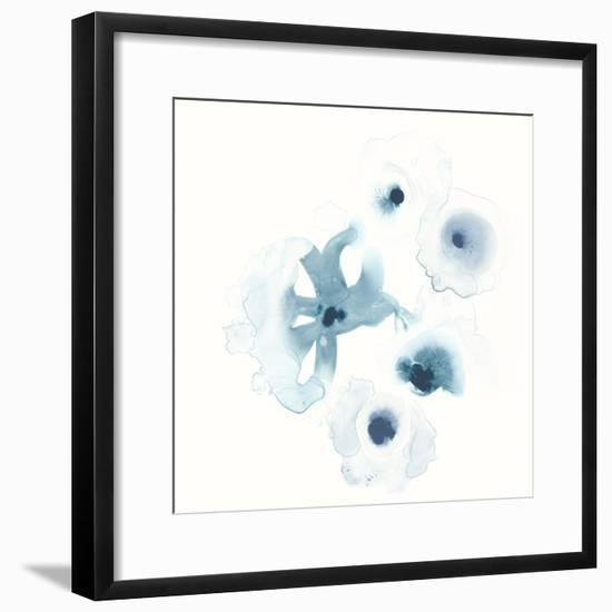 Protea Blue IV-June Vess-Framed Art Print
