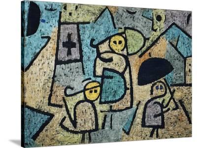Protected Children-Paul Klee-Stretched Canvas Print