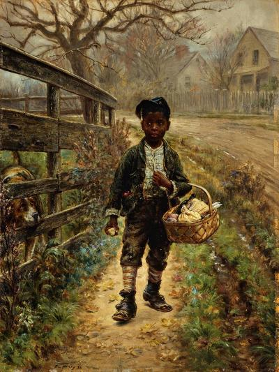 Protecting the Groceries-Edward Lamson Henry-Giclee Print