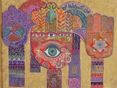 Protective Amulets, 1992-Laila Shawa-Giclee Print