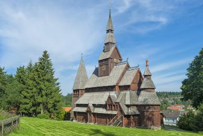 Protestant Gustav Adolf Stave Church, Hahnenklee, Harz, Lower Saxony, Germany, Europe-G & M Therin-Weise-Photographic Print