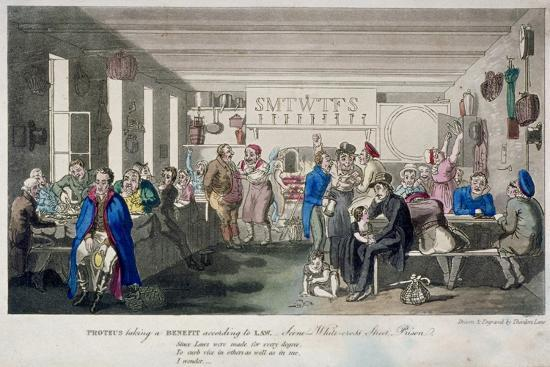 Proteus Taking a Benefit According to Law, 1825-Theodore Lane-Giclee Print