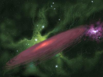 Protostellar Disk-Stocktrek Images-Photographic Print
