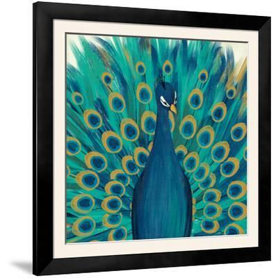 Proud as a Peacock I-Veronique Charron-Framed Photographic Print