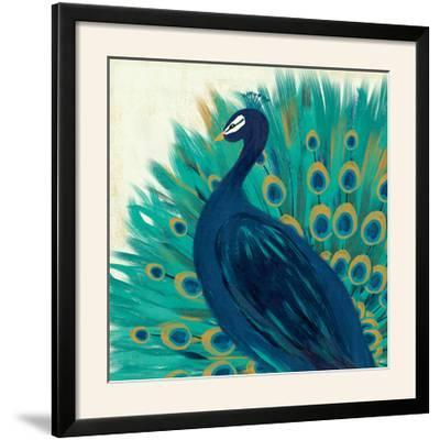 Proud as a Peacock II-Veronique Charron-Framed Photographic Print
