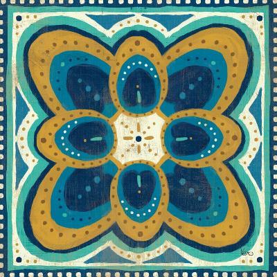 Proud as a Peacock Tile III-Veronique Charron-Art Print