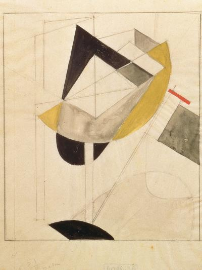 Proun 19, 1920-El Lissitzky-Giclee Print