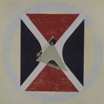 Proun 43, 1924-El Lissitzky-Giclee Print