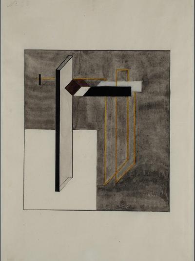 Proun 4B-El Lissitzky-Giclee Print