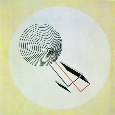 Proun 93, 1924-El Lissitzky-Giclee Print