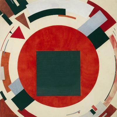 Proun, Circa 1922, El Lissitzky-El Lissitzky-Giclee Print