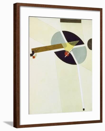 Proun G 7, 1923-El Lissitzky-Framed Giclee Print