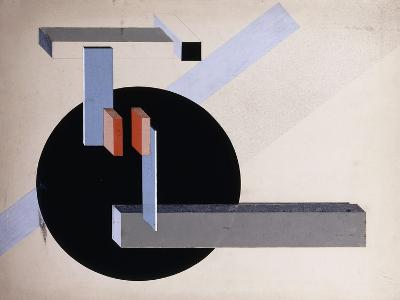 Proun N 89 (Kilmansvaria), c.1925-El Lissitzky-Giclee Print