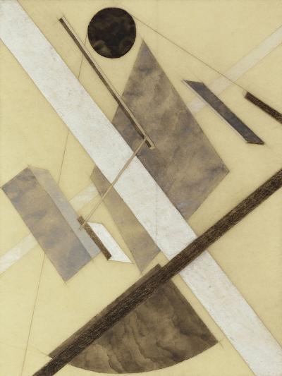 Proun: Path of Energy and Dynamic Flows, c.1920-El Lissitzky-Giclee Print