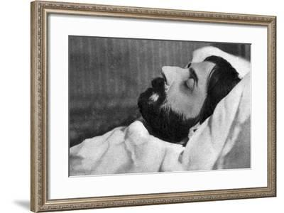 Proust Dead Photo--Framed Photographic Print