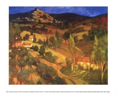 Provencal Landscape-Philip Craig-Art Print