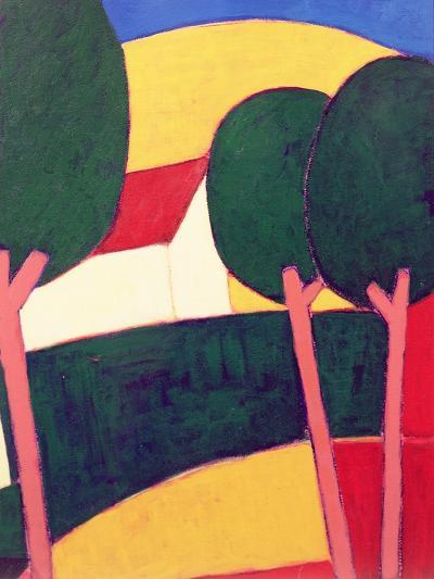 Provencal Paysage, 1997-Eithne Donne-Giclee Print