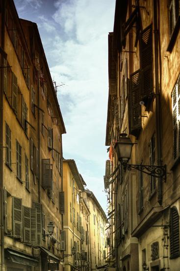 Provencal Street - French Streets - Nice - France-Philippe Hugonnard-Photographic Print