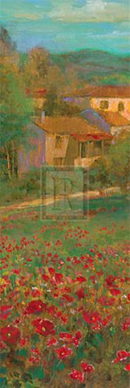 Provencal Village VI-Michael Longo-Art Print