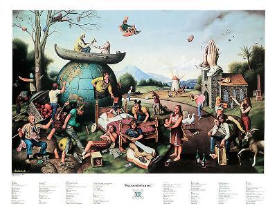 Proverbidioms II-T^ E^ Breitenbach-Art Print