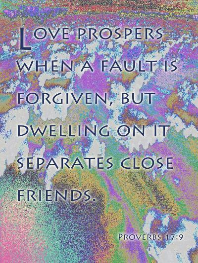 Proverbs 17:17-Cathy Cute-Giclee Print