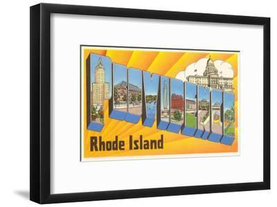 Providence, Rhode Island, Large Letters