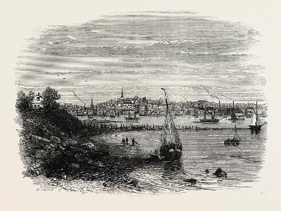 Providence, Rhode Island, USA, 1870s--Giclee Print