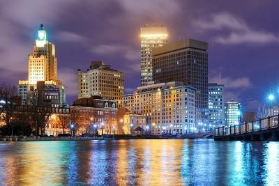 Providence, Rhode Island Was One of the First Cities Established in the United States.-SeanPavonePhoto-Photographic Print